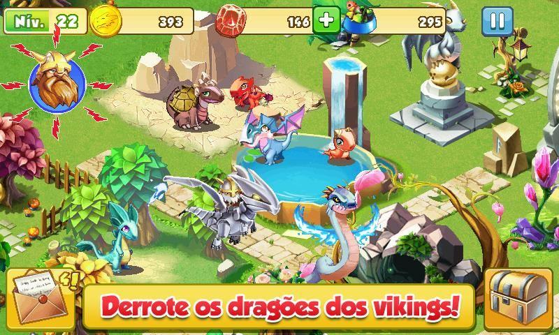 Dragon Mania: A Lenda - Imagem 1 do software