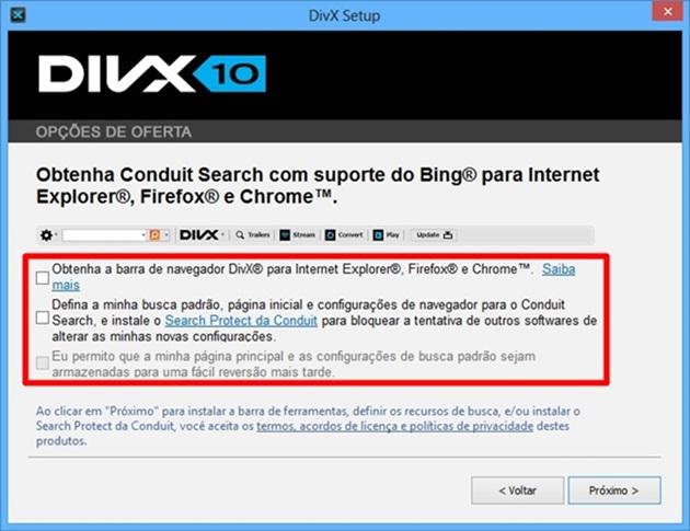 DivX - Imagem 2 do software