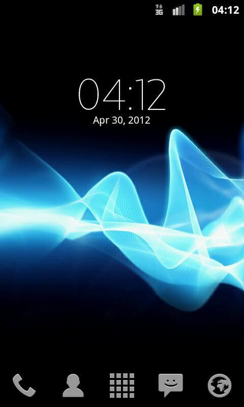 Digital Clock Widget Xperia - Imagem 2 do software