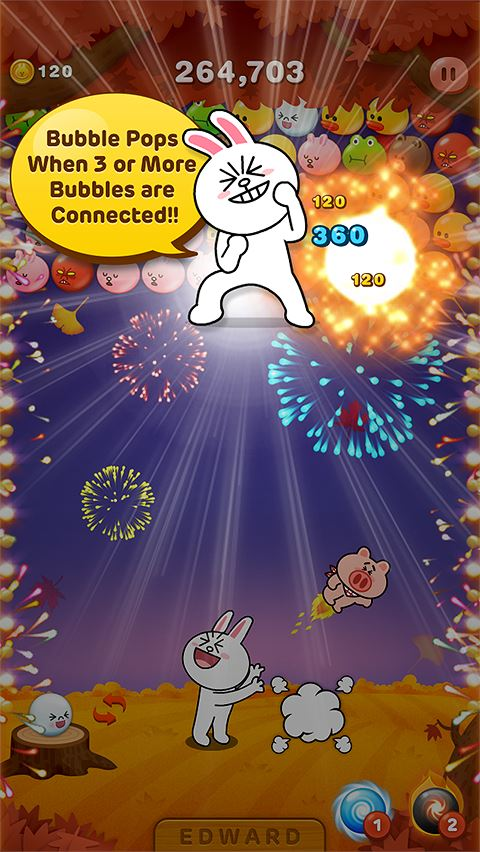 LINE Bubble! - Imagem 1 do software