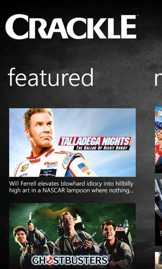 Crackle - Movies & TV - Imagem 1 do software