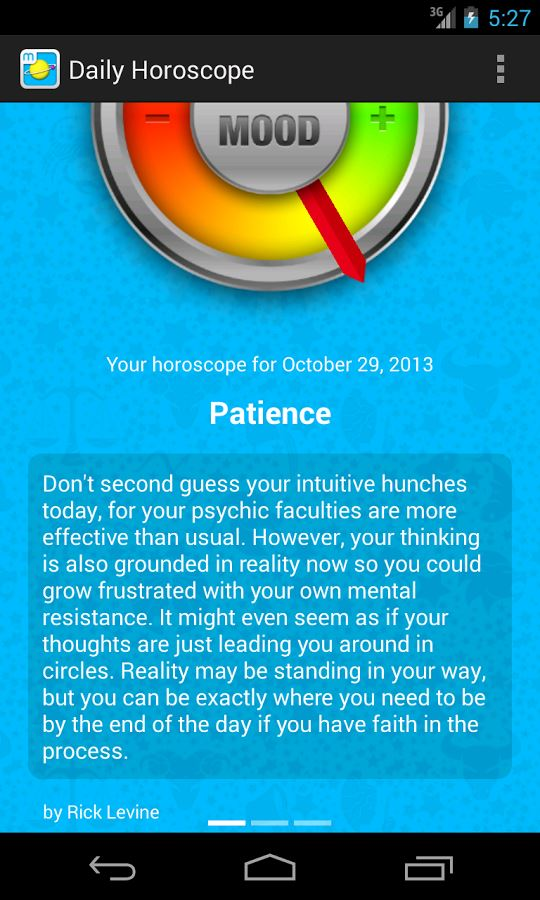 Daily Horoscope by Moonit - Imagem 2 do software