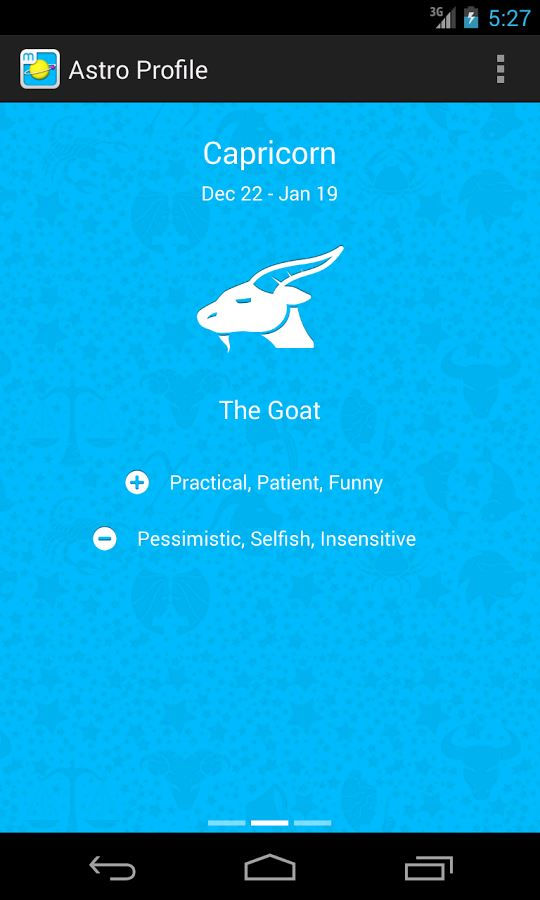 Daily Horoscope by Moonit - Imagem 1 do software
