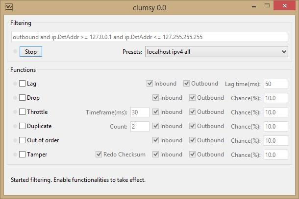Clumsy - Imagem 1 do software