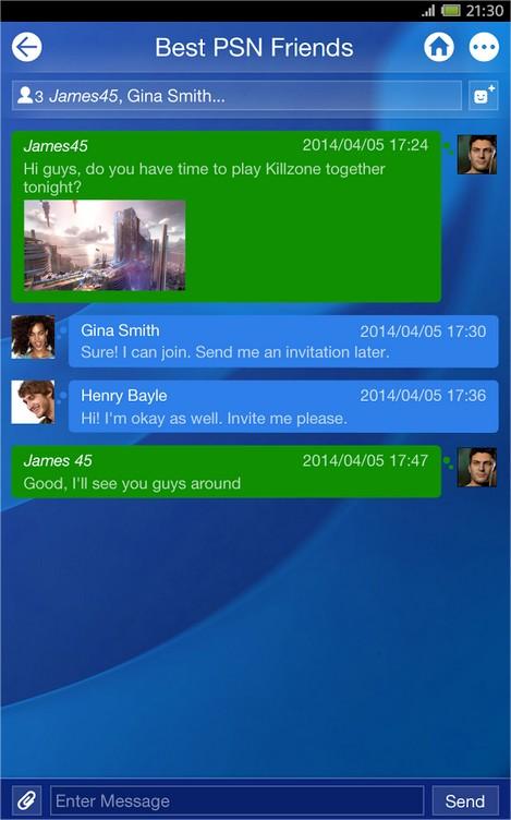 PlayStation App - Imagem 2 do software
