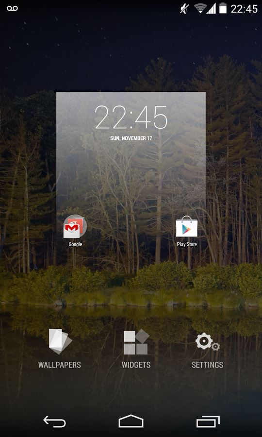 KitKat Launcher by ffosilva - Imagem 2 do software