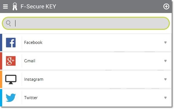 F-Secure KEY - Imagem 2 do software
