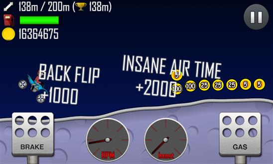 Hill Climb Racing - Imagem 1 do software