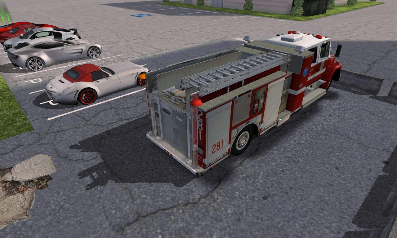 Fire Truck Parking - Imagem 1 do software