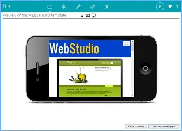 TOWeb - Imagem 2 do software