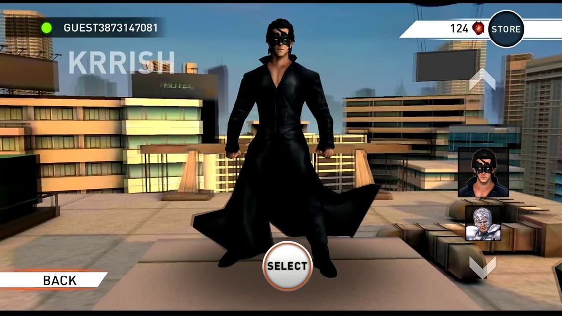 Krrish 3: The Game - Imagem 1 do software
