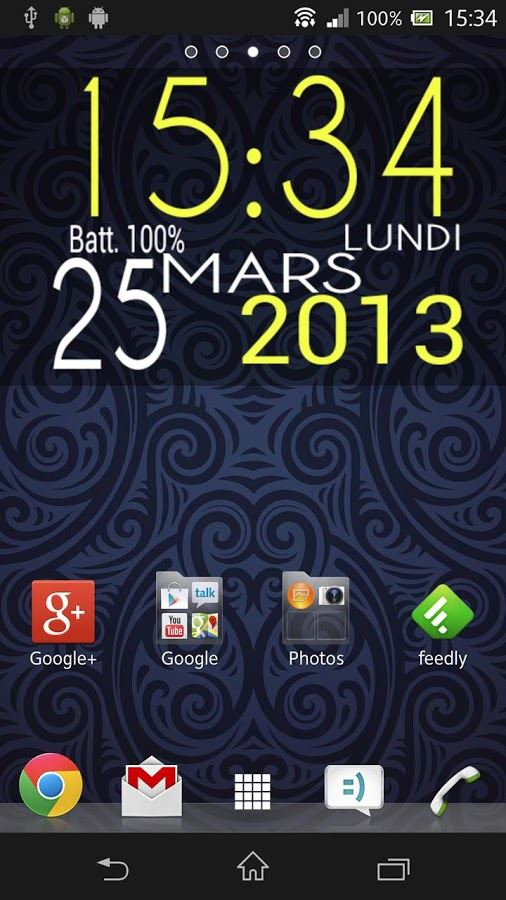 Easy Clock Widget Lite - Imagem 1 do software