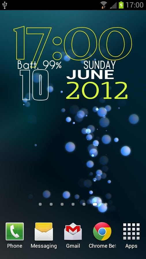 Easy Clock Widget Lite - Imagem 2 do software