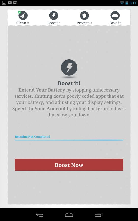 Memory Cleaner & Speed Booster by TapToFix Apps - Imagem 2 do software