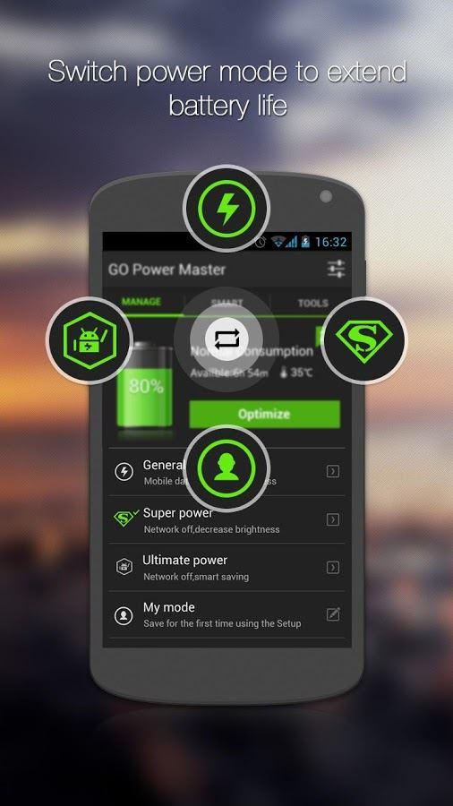 GO Battery Saver &Power Widget - Imagem 1 do software
