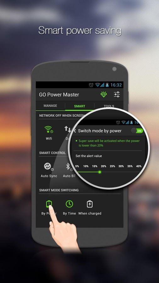 GO Battery Saver &Power Widget - Imagem 2 do software