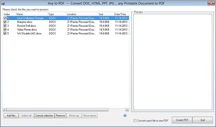 PDFCool Free Word2PDF Converter