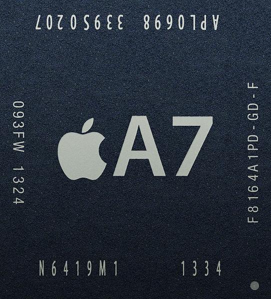 Processador de 64 bits do iPhone 5S teria