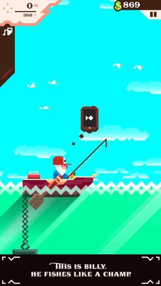 Ridiculous Fishing - Imagem 1 do software
