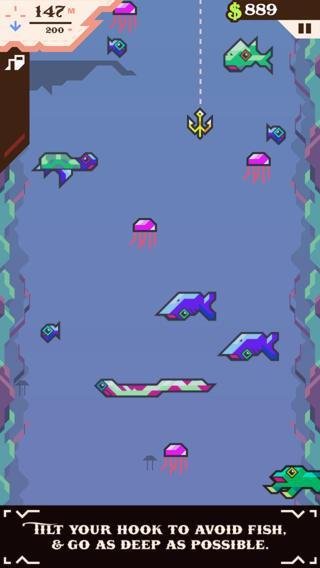 Ridiculous Fishing - Imagem 2 do software