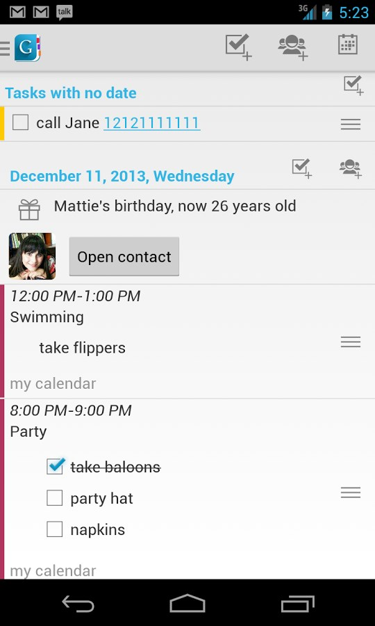 Day by Day Organizer Free - Imagem 1 do software