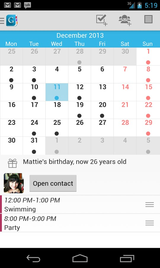 Day by Day Organizer Free - Imagem 2 do software