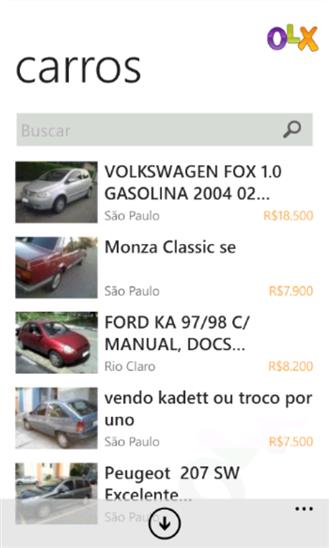 OLX Classificados Grátis - Imagem 2 do software