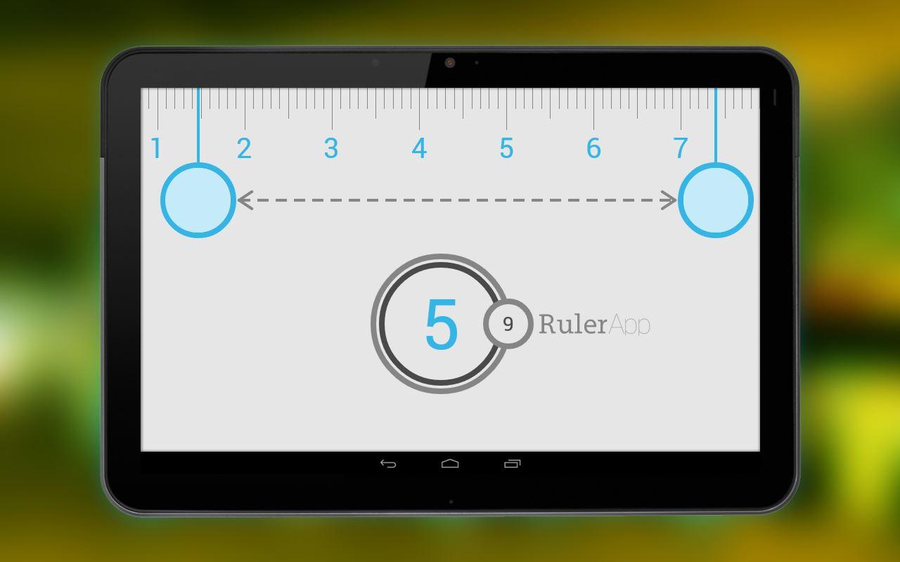 Ruler App - Imagem 1 do software