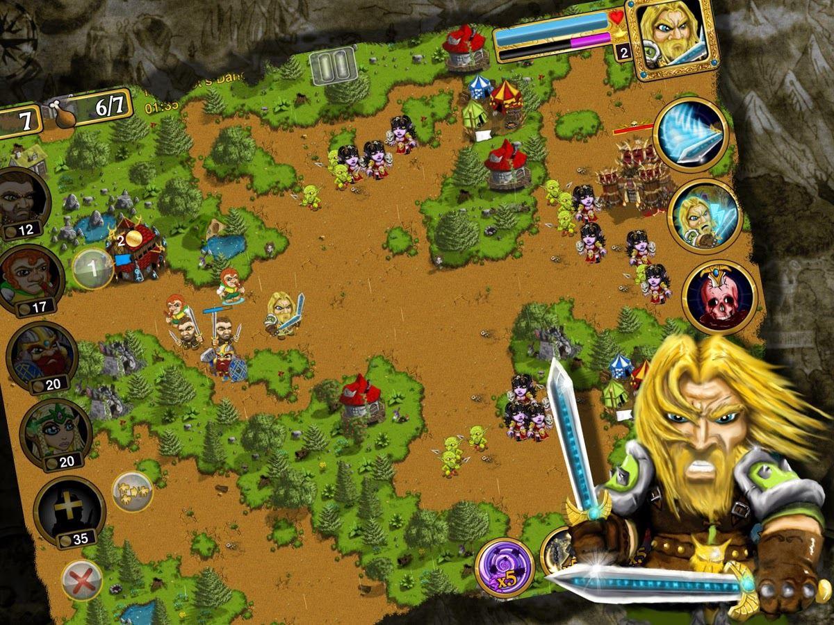 Warlords RTS: Jogo Estratégia - Imagem 1 do software