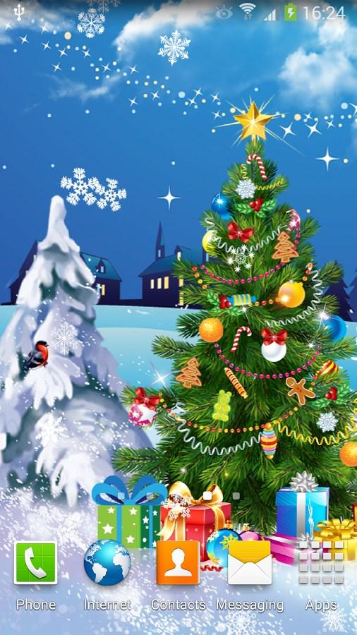 Christmas Night Live Wallpaper - Imagem 2 do software