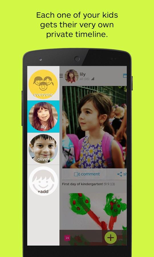 Keepy Save your kids childhood - Imagem 2 do software
