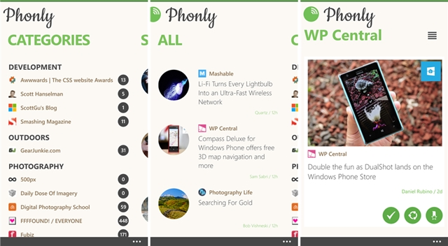 Phonly - Imagem 1 do software