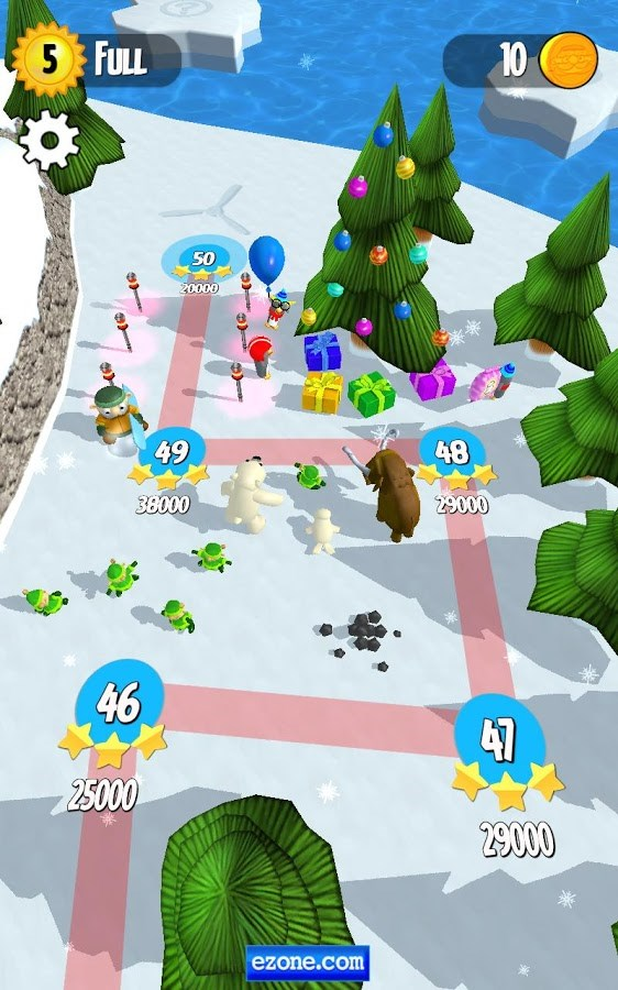 Snow Spin: Snowboard Adventure - Imagem 2 do software