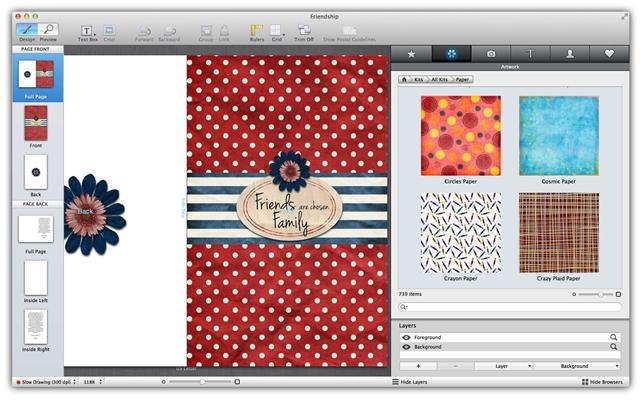 Greeting Cards Studio - Imagem 1 do software