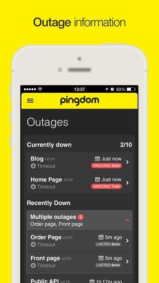 Pingdom - Imagem 2 do software