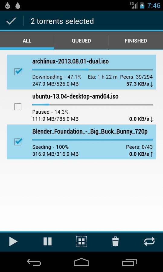 Flud - Torrent Downloader - Imagem 2 do software