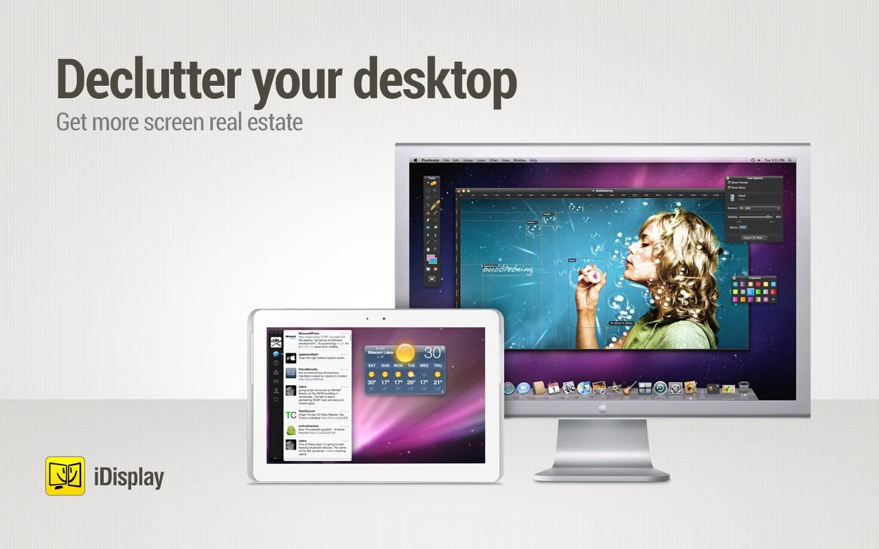 iDisplay - Imagem 1 do software