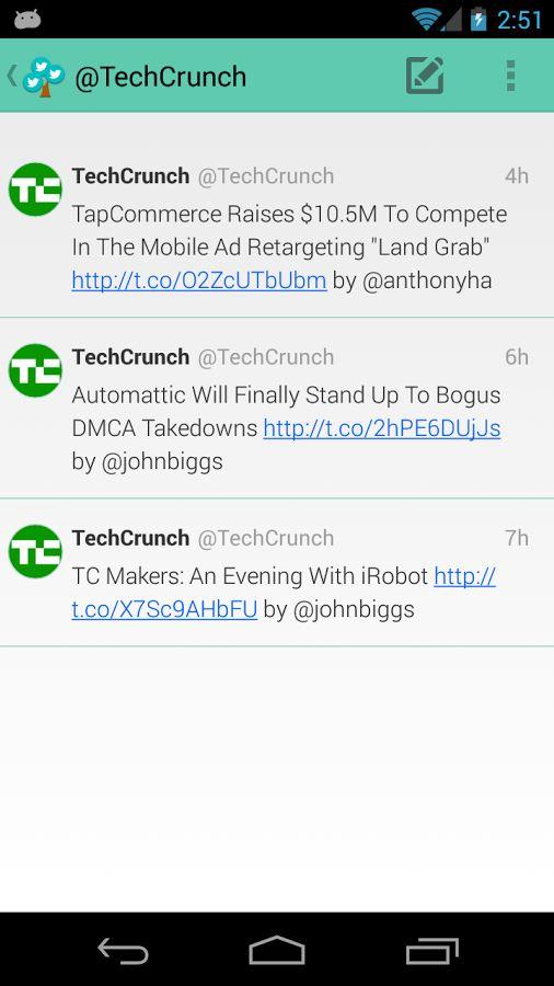 Branches for Twitter - Imagem 2 do software