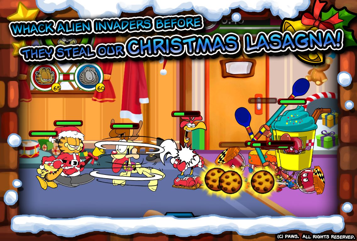 Garfield Saves The Holidays - Imagem 1 do software