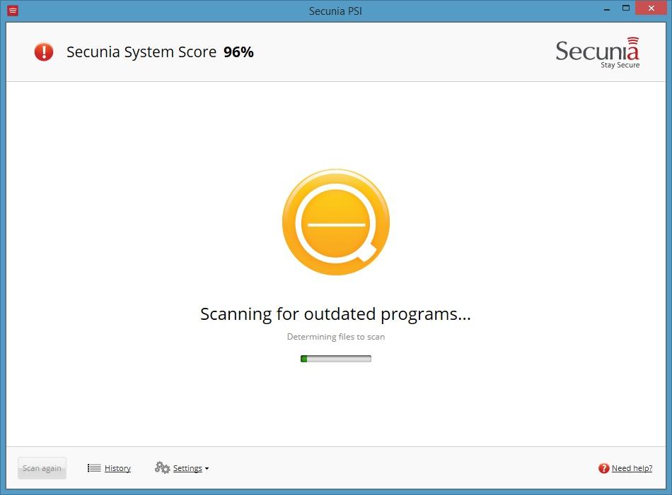 Secunia Personal Software Inspector - Imagem 1 do software