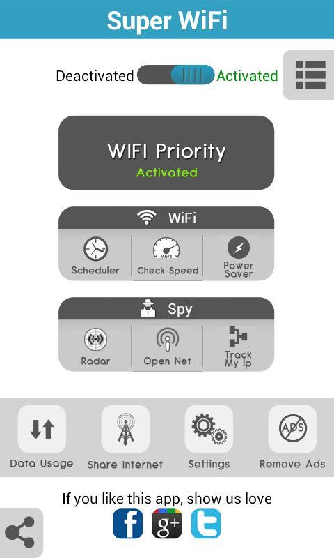 Super WiFi - Imagem 1 do software