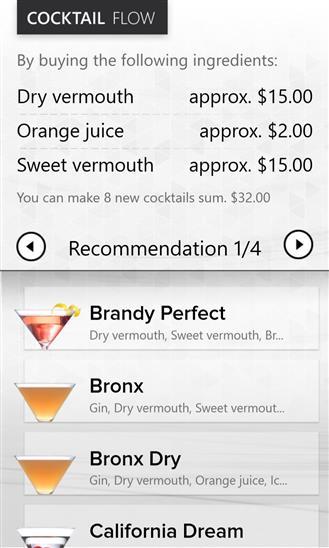 Cocktail Flow - Imagem 2 do software