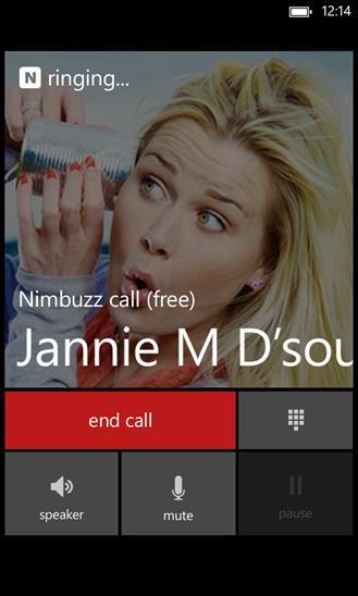 Nimbuzz - Imagem 4 do software
