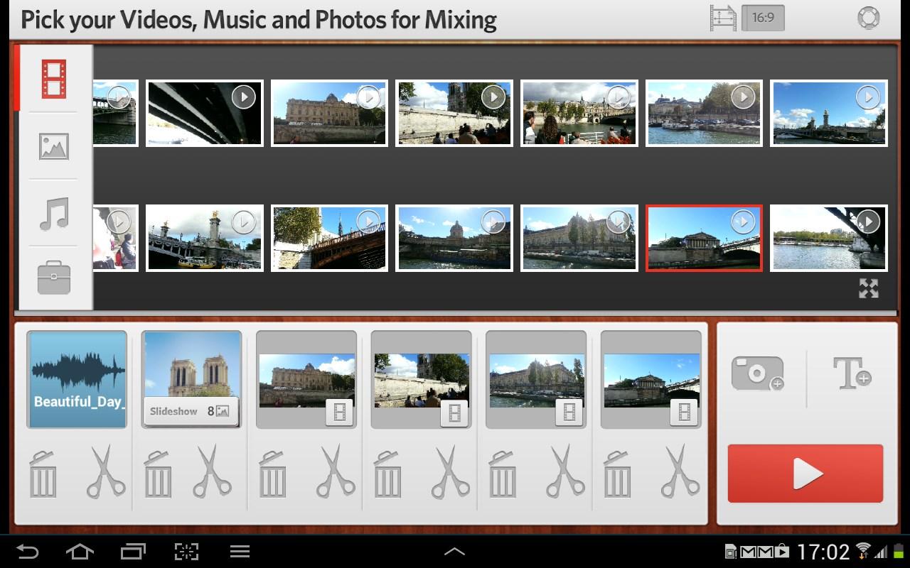 trakAx MovieExpress - Imagem 1 do software