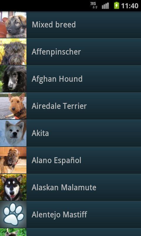 Dog Breeds - Imagem 1 do software