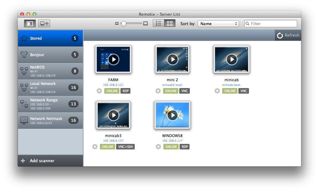 Remotix - Imagem 1 do software