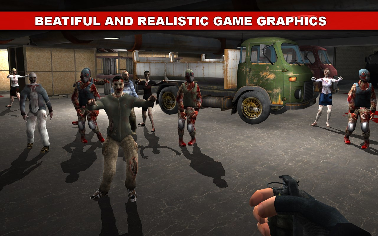 The Dead Town: Walking Zombies - Imagem 1 do software
