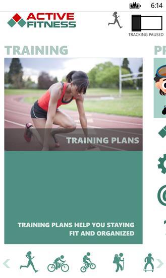 Active Fitness - Imagem 2 do software