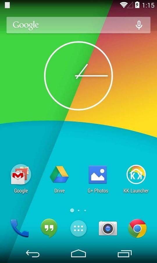 KitKat Launcher ( Android 4.4) - Imagem 1 do software