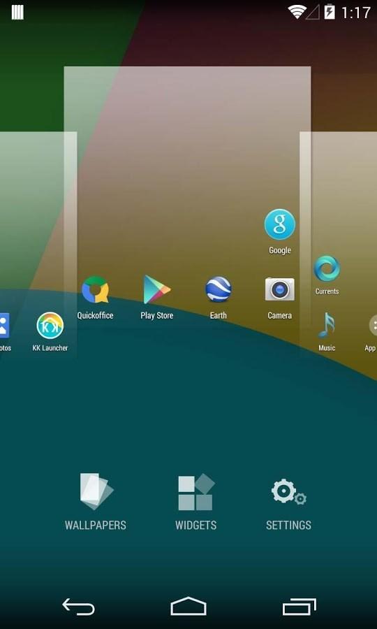 KitKat Launcher ( Android 4.4) - Imagem 2 do software